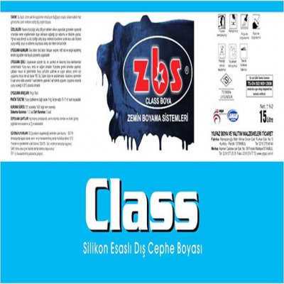 ZBS CLASS SILICONE EXTERIOR PAINT